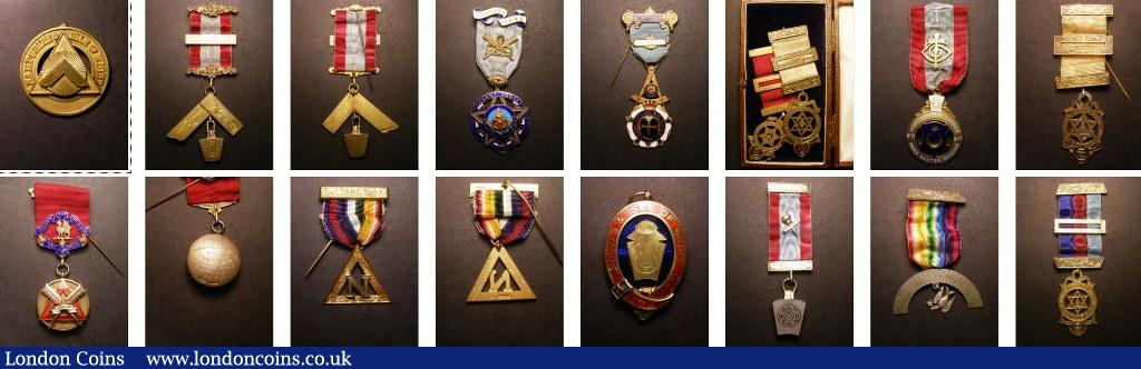 Masonic : Buy and Sell Medals : Auction Prices