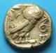 London Coins : A139 : Lot 1539 : Ar tetradrachm. Attica. Athens. C, 300-262 BC. Obv; Helmeted head of Athena right. Rev; ...