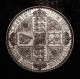 London Coins : A139 : Lot 1672 : Crown 1847 Gothic ESC 288 UNDECIMO UNC and lustrous with only minor cabinet friction and hairlines&#...