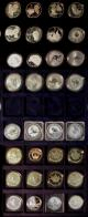 London Coins : A140 : Lot 1128 : Westminster Collection of Silver Proofs with Canadian Maples, Australia Kookaburas, other cr...
