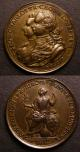 London Coins : A140 : Lot 1222 : George III and Charlotte Coronation 1761 Obverse Busts left conjoined GEO&CHARLOTTE.CROWND.SEPTEM..2...