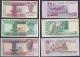 London Coins : A140 : Lot 528 : Ghana printers Specimens dated 1979 (6), 1 cedi Pick17s, 2 cedis Pick18s, 5 cedis Pick19...