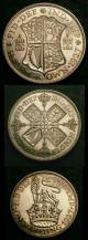 London Coins : A141 : Lot 446 : Part Proof Set 1927 (3 coins) Halfcrown 1927 Proof ESC 776 nFDC with some light hairlines, Flori...