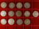 London Coins : A142 : Lot 3092 : Crowns (12) 1666, 1819LIX, 1820LX (2), 1821 SECUNDO, 1822 SECUNDO, 1822 TERTIO&#...