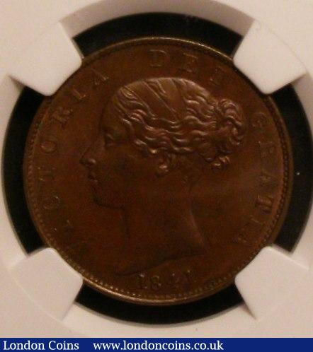 Halfpenny 1841 NGC MS63 BN : Certified Coins : Auction 142 : Lot 591