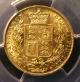 London Coins : A142 : Lot 640 : Sovereign 1841 as Marsh 24, slabbed by PCGS as GRΛTIΛ variety and graded AU53, however clo...