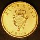 London Coins : A142 : Lot 940 : Ireland Farthing 1806 Gilt Proof S.6622 nFDC and lustrous
