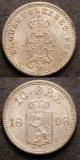 London Coins : A142 : Lot 983 : Norway 50 Ore 1896 lightly toned AU, and 10 Ore 1898 Unc toned