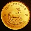 London Coins : A143 : Lot 1105 : South Africa Krugerrand 1972 KM#73 UNC