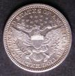 London Coins : A143 : Lot 1182 : USA Quarter Dollar 1903 Unc or near so with original brilliance
