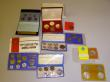 London Coins : A143 : Lot 1213 : China Mint Sets 1980 (2) both 7 coin sets and in the original strip plastic presentation wallet with...