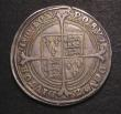 London Coins : A143 : Lot 1466 : Halfcrown Edward VI Fine Silver Issue 1551 Walking horse with plume S.2479 mintmark y bold Fine/Good...