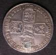 London Coins : A143 : Lot 2236 : Shilling 1763 Northumberland ESC 1214 Fine, plugged