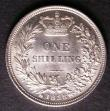 London Coins : A143 : Lot 2251 : Shilling 1838 ESC 1278 EF/AU with some contact marks on the obverse
