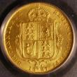London Coins : A143 : Lot 2695 : Half Sovereign 1887 Jubilee Head Imperfect J in J.E.B Marsh 478C PCGS MS63