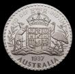 London Coins : A143 : Lot 597 : Australia Florins INA Retro Patterns Edward VIII 1937 (8) Obverse Metcalfe Head facing right, Revers...