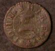 London Coins : A143 : Lot 673 : Farthing Somerset 17th Century Crookhorn (Crewkerne) 1666 John Shire, Dickinson 111 VG/NF
