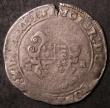 London Coins : A144 : Lot 1234 : Shilling Edward VI Base Issue Second Period 1549 Fine/NF for issue with an edge crack at 12 o'c...