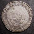 London Coins : A144 : Lot 1235 : Shilling Edward VI Base Issue Second Period 1549 Tower Mint S.2466 mintmark Arrow VG with mostly bol...
