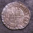 London Coins : A144 : Lot 1298 : Threepence Elizabeth I 1582 Fifth Issue mintmark Sword VF, Ex-Spink October 1963 4/6