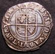 London Coins : A144 : Lot 1299 : Threepence Elizabeth I Fifth Issue 1578 S.2573 mintmark Greek Cross Good Fine and pleasing