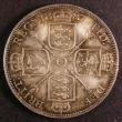 London Coins : A144 : Lot 1449 : Double Florin 1887 Roman 1 ESC 394 Unc toned and graded 78 by CGS the second finest of 27 examples t...