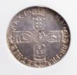 London Coins : A144 : Lot 2220 : Sixpence 1697 Third Bust ESC 1566 NGC MS63 (wrongly stated on the holder as ESC 1565A)