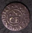 London Coins : A144 : Lot 904 : Farthing 17th Century London Piccadilly Market CB N AT THE NAGS HEAD, unrecorded type, Fine for issu...