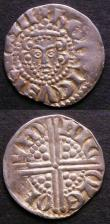 London Coins : A145 : Lot 1263 : Pennies Henry III (2) S.1362 London Mint, moneyer Nicole, NVF and S.1369 Broader face with almond-sh...