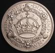 London Coins : A145 : Lot 1426 : Crown 1932 as ESC 372 a Proof or Specimen striking A/UNC with some contact marks, the fields retaini...