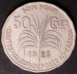 London Coins : A145 : Lot 639 : Guadeloupe 50 Centimes 1921 KM#45 About UNC