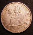 London Coins : A146 : Lot 1207 : Guatemala 4 Reales 1894H KM#168.1 GEF