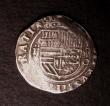 London Coins : A146 : Lot 1381 : Spain 2 Reales Cob, Philip II undated Fine, a pleasing and well-rounded example