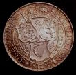 London Coins : A146 : Lot 2223 : Florin 1897 ESC 881 UNC and lustrous with a hint of gold tone, and some light contact marks