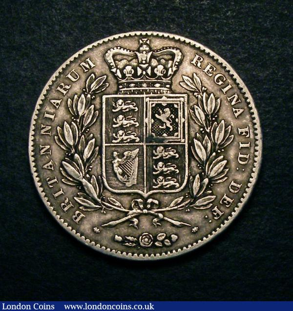 Crown 1847 Young Head ESC 286 Good Fine : English Coins : Auction 146 : Lot 2811