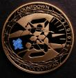 London Coins : A146 : Lot 2922 : Five Pound Crown 2009 Countdown to the 2012 London Olympic Games, blue logo on reverse S.4920 Gold P...