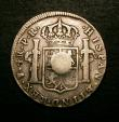 London Coins : A146 : Lot 3020 : Half Dollar George III with Oval Countermark on Bolivia Potosi 4 Reales 1782 PTS Countermark NVF hos...