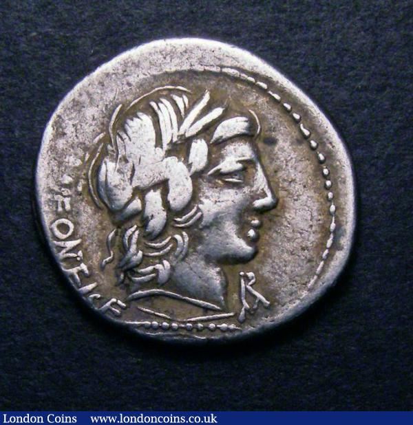 Denarius Apollo : Buy and Sell Ancient Coins : Auction Prices