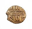 London Coins : A147 : Lot 1795 : Quarter stater Au. Cunobelin.  Biga type.  C, 10-40 AD.  Obv; CAMVL on panel.  Rev; Two horses l, wh...