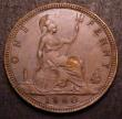 London Coins : A147 : Lot 2899 : Penny 1860 Freeman 17 dies 6+D AU/GEF with a spot on the reverse, rare