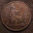 London Coins : A147 : Lot 2909 : Penny 1861 Freeman 32 dies 6+F VG with some corrosion, all major details clear, all Reverse F Pennie...