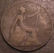 London Coins : A147 : Lot 2986 : Penny 1908 Freeman 164A dies 1*+C VG Very Rare