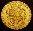London Coins : A147 : Lot 3014 : Quarter Guinea 1762 S.3741 VF