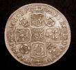 London Coins : A147 : Lot 3051 : Shilling 1731 Roses and Plumes ESC 1194 Good Fine, the reverse slightly better