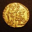 London Coins : A147 : Lot 839 : Italian States - Venice Gold Ducat undated (1400-1413) Michele Steno VF