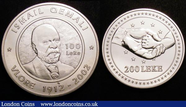 GDR 10 Mark 1975 Albert Schweizer brilliant uncirculated Silver Coin in capsule