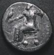 London Coins : A148 : Lot 1415 : Macedonia Tetradrachm Alexander the Great (336-323BC) Aradus Mint, Fine or slightly better