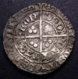 London Coins : A148 : Lot 1501 : Groat Henry VII facing bust issue, type II a S.2195 mintmark Cinquefoil VF with patchy tone