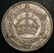 London Coins : A148 : Lot 1771 : Crown 1934 ESC 374 the key date in the series UNC slabbed and graded CGS 80, cross-graded MS64 by IC...