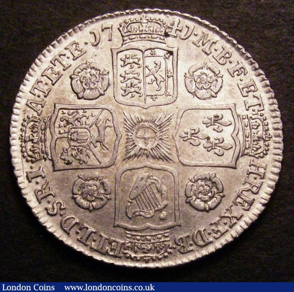 Shilling 1741 Roses ESC 1202 NEF : English Coins : Auction 148 : Lot 2291